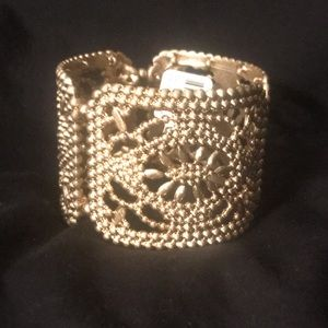 New Gold Tone Bracelet from The Loft